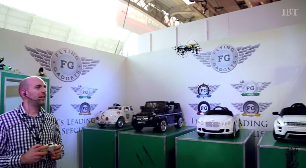 les drones aux salons du jouet 2015 nuremberg et londres