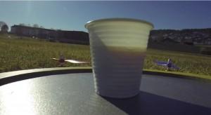 Livraison de café par drone