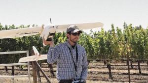 Drone au secours des viticulteurs