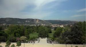 parc Jouvet et Valence, drone