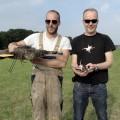 Projet de vache hélicoptère