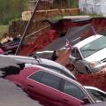 Effondrement d'un parking du Mississippi