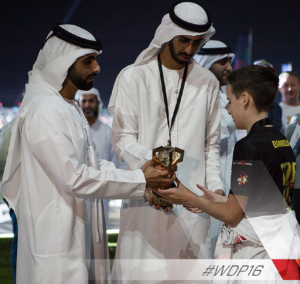 vainqueur du premier World Drone Prix