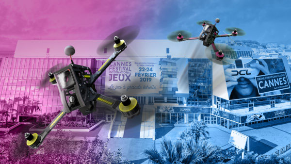 drones champions league Cannes